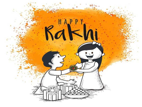 Cartoon Images for Raksha Bandhan 2020