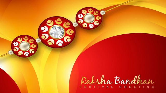Raksha Bandhan Wishes Picture for Brother