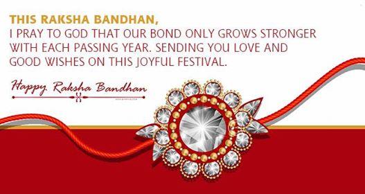 Raksha Bandhan words from Brother