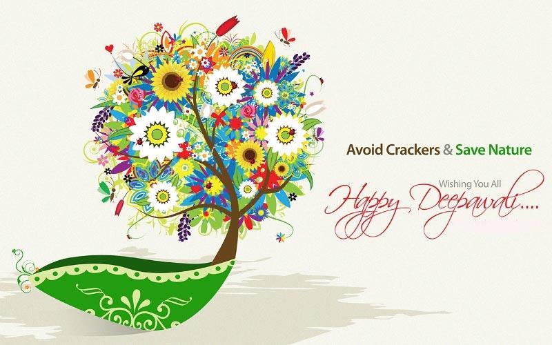eco friendly diwali wishes slogan quotes green diwali happy