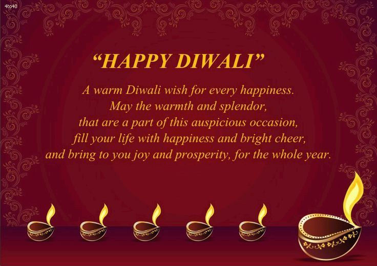 Deepavali Greeting Wishes for Love Image