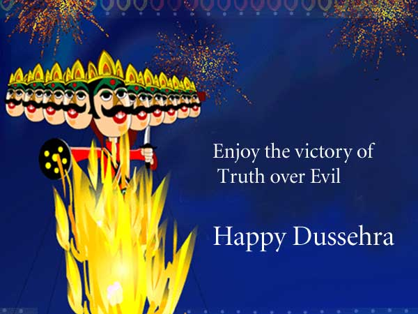 Dussehra greeting to Boss
