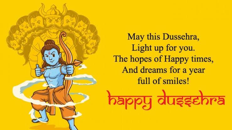 Dasara Greeting for Parents