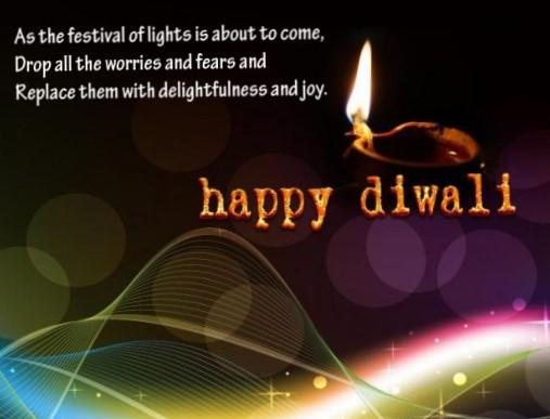 Deepavali Greetings to Papa