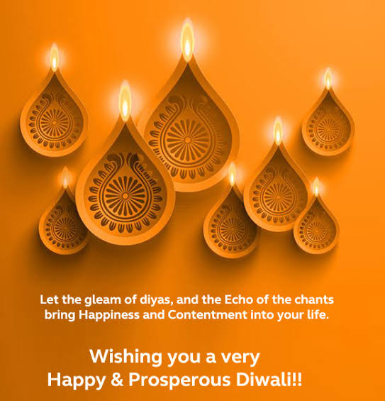 Deepavali Wishes by CEO