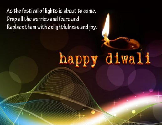 Diwali wish to sister in English