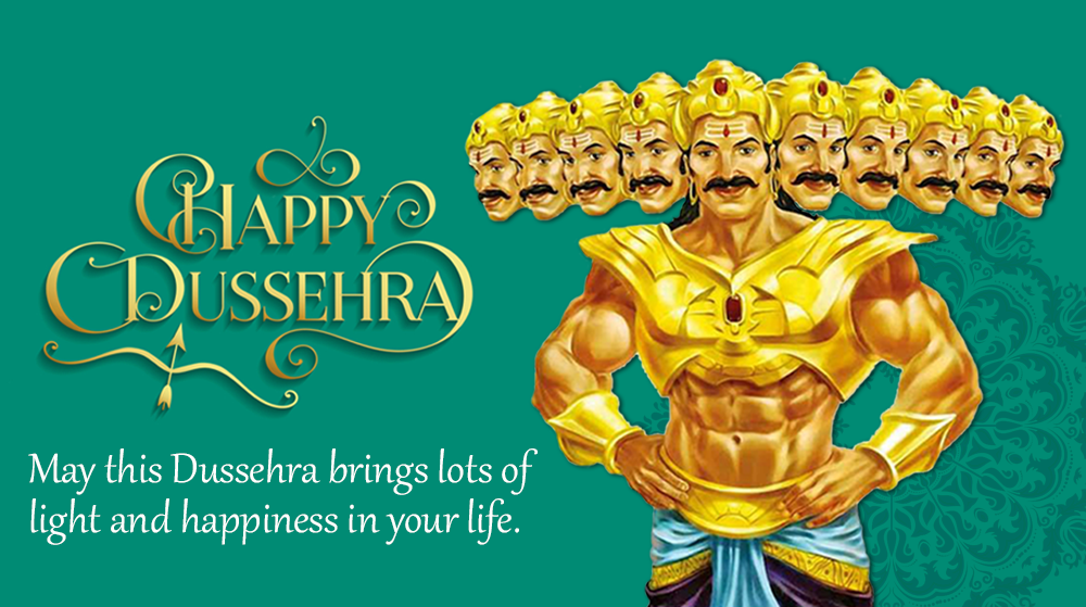 Dussehra Greeting for Brother in English