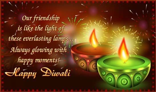 Happy Deepavali Greetings to My Friendship