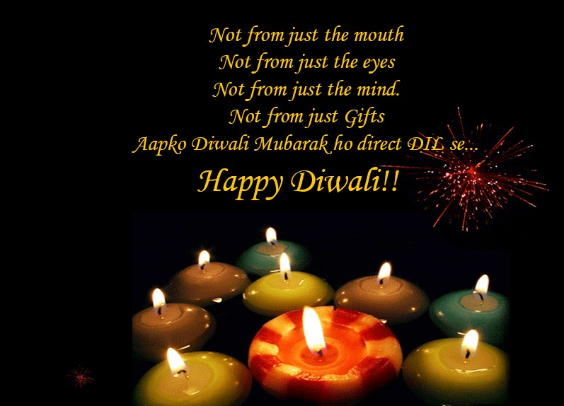 Happy Diwali Messages for Special friends in Hindi