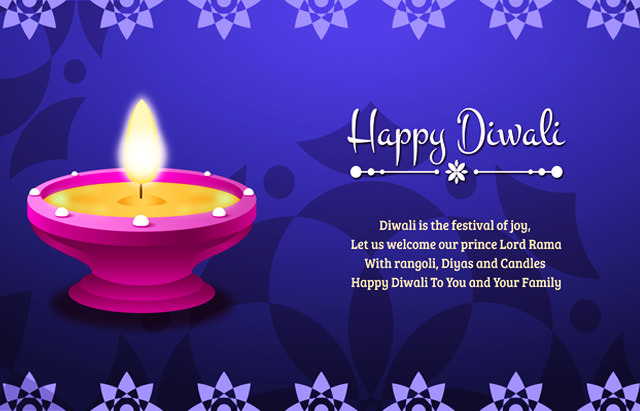 Happy Diwali To My Loving Fiance
