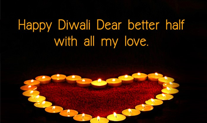 Happy Diwali Wishes for Husband in English