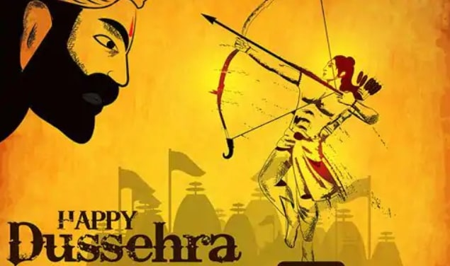 Happy Dussehra Cover Page