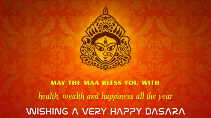 Vijay Dashami Greeting for Son daughter