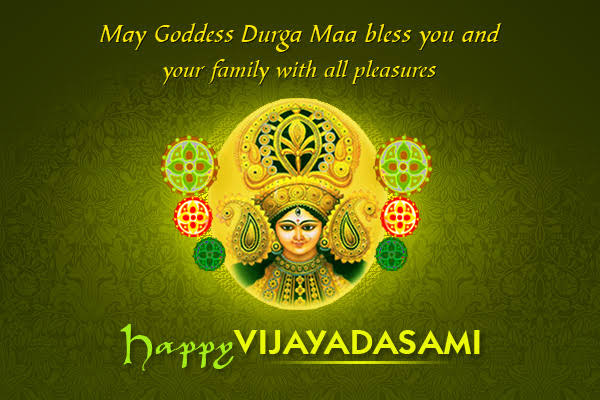 Vijayadashami Wishes for daughter