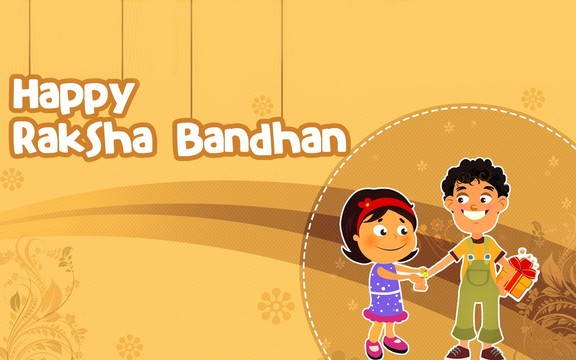 Happy Raksha Bandhan to My sister HD Wallpaper