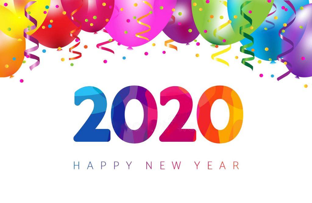 happy New Year 2020-2019-2018