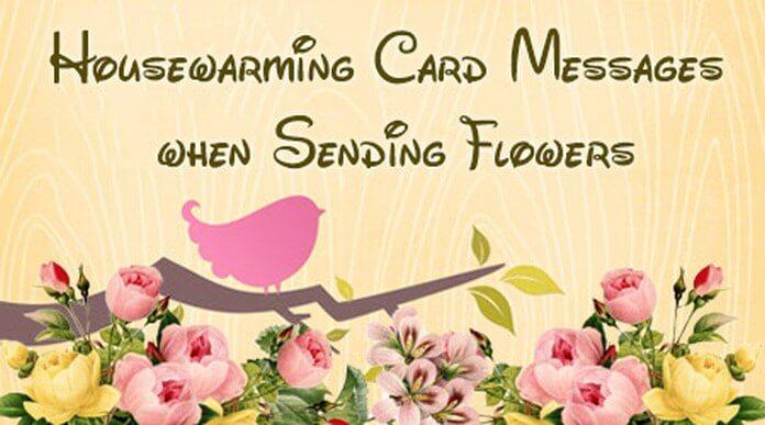 Housewarming card messages