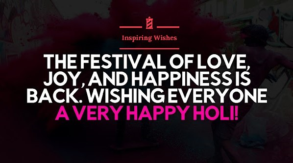 Best Holi Saying Images 2020