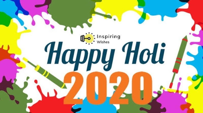 Happy Holi 2020 Coloring Pictures