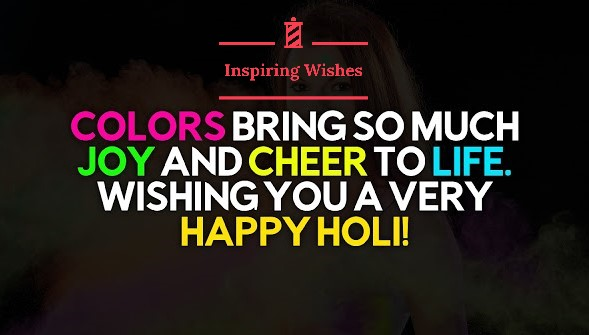 Wishing Holi Images