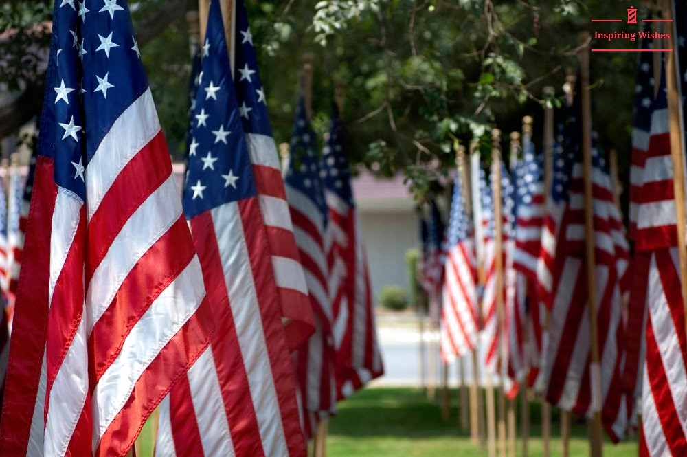 Memorial Day flag Images 2020