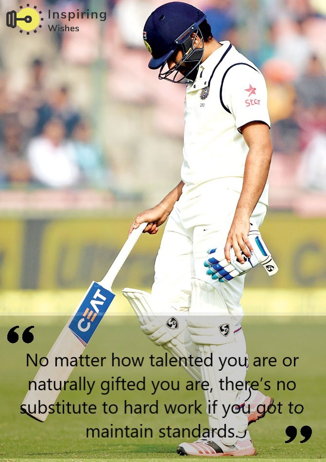 Rohit Sharma Best Sayings