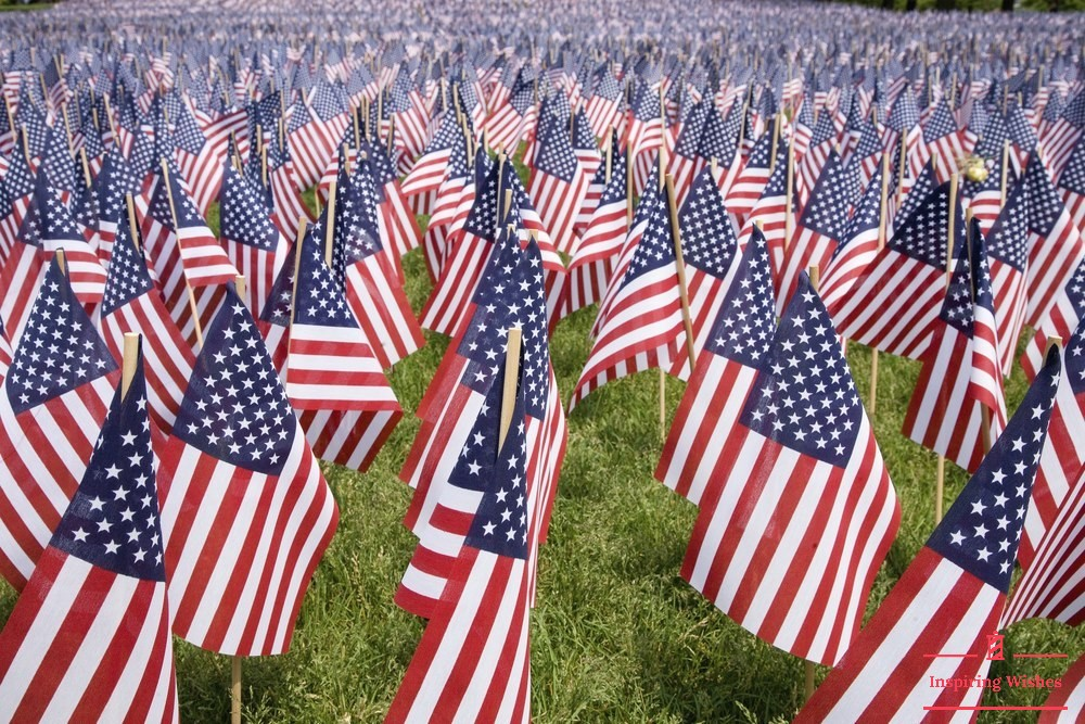 USA Memorial Day Flag Images