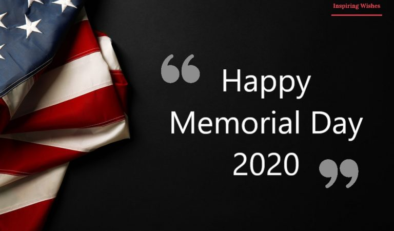 Happy Memorial Day 2020 Images, Pictures, Pics & Photos