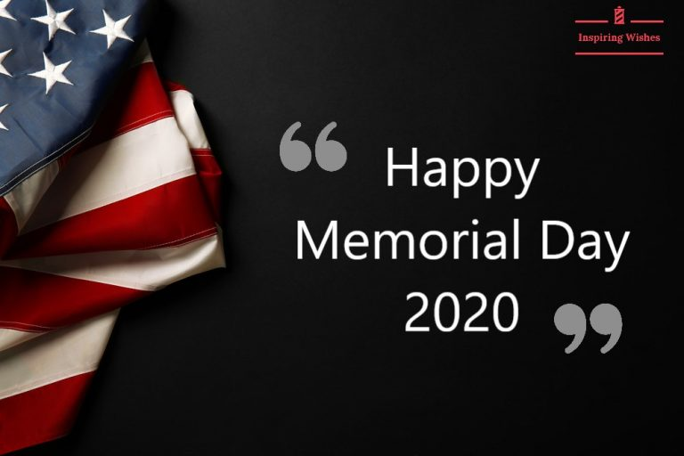 Wish You Happy Memorial Day 2020