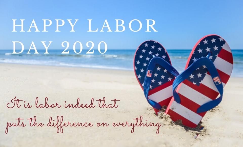 Happy Labor Day 2020