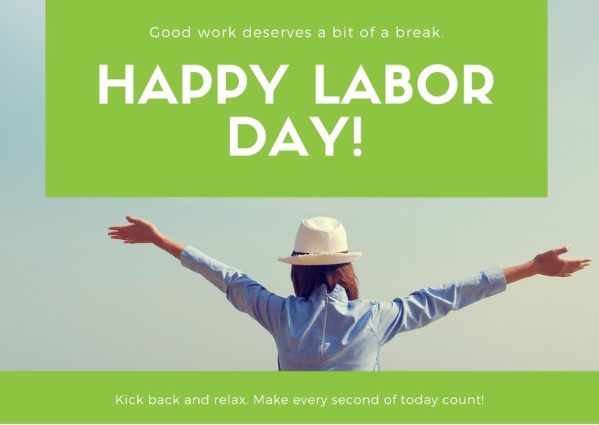 Happy Labor Day 2020 Photos