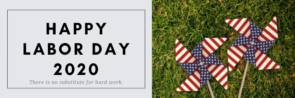 Happy Labor Day 2020 Poster