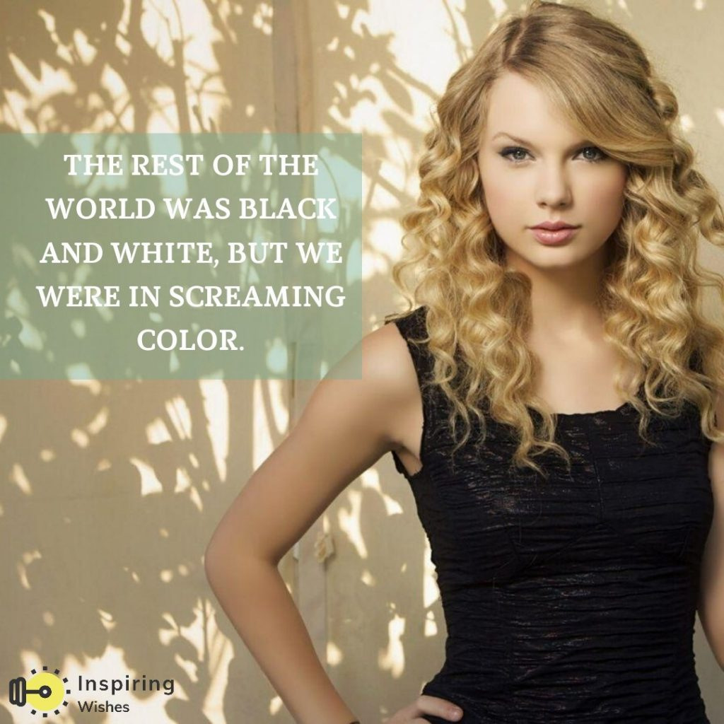 Inspiring Quotes for Career by Taylor Swift
