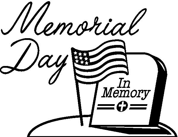 Memorial Day HD Clipart