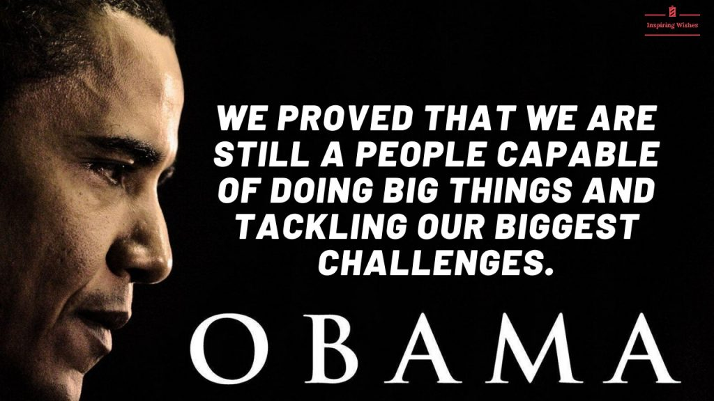 Motivational Quotes Barack Obama