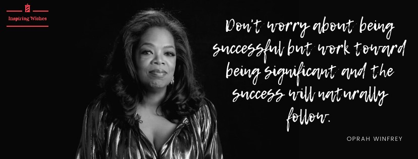 Motivational Saying for Start-Up - Oprah Winfrey