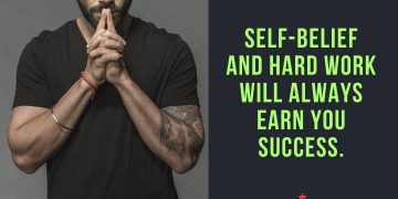 Self Believe Motivational Quotes from Virat Kohli