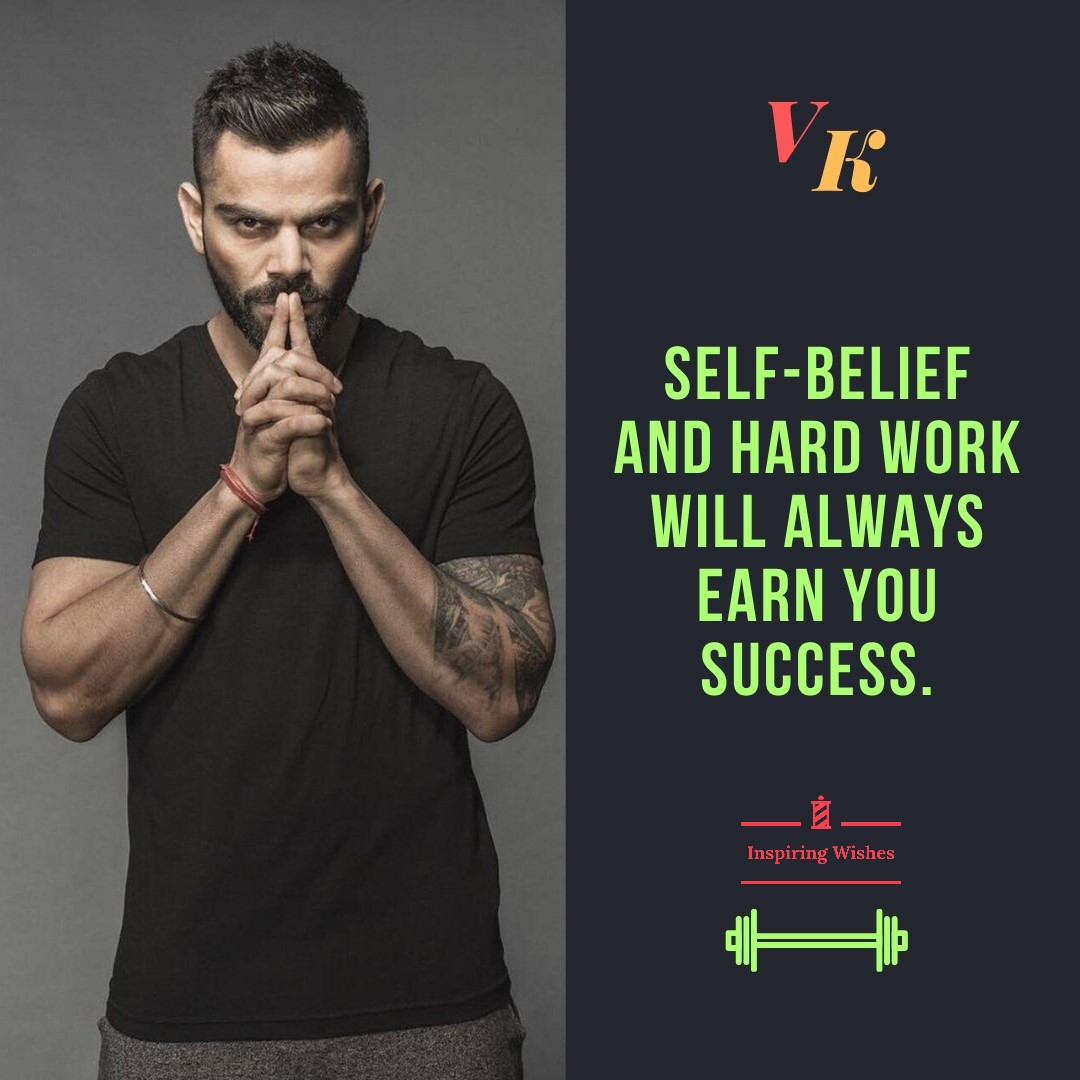 Inspirational Quotes By Virat Kohli Encouraging Sayings By Vk