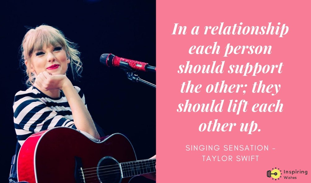 Taylor Swift Motivation Quotes to Lift up