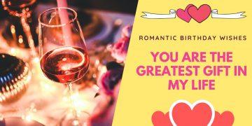 Romantic Birthday Wishes Quotes