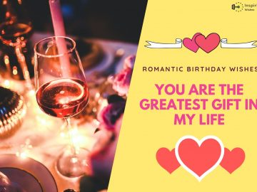Romantic Birthday Wishes Quotes