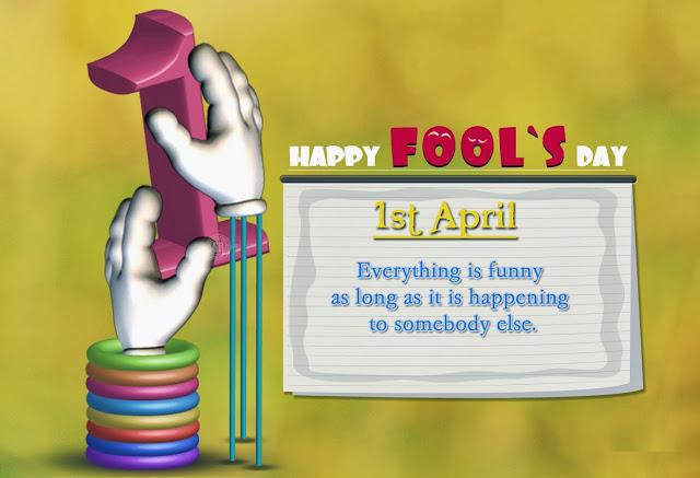 1st April Fool Day