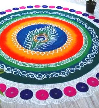 Republic Day Rangoli Design